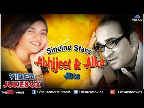 Singing Stars ~ Abhijeet & Alka Yagnik Hits  Romantic Songs   Jukebox