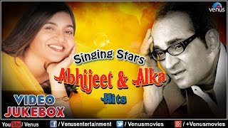 Singing Stars ~ Abhijeet & Alka Yagnik Hits - Romantic Songs || Video Jukebox