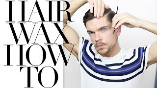 One of Robin James's most viewed videos: How To Use Hair Wax