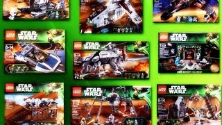 New LEGO 2013 Summer Sets Pictures Star Wars, LOTR, City, Galaxy Squad  (Full HD Quality)