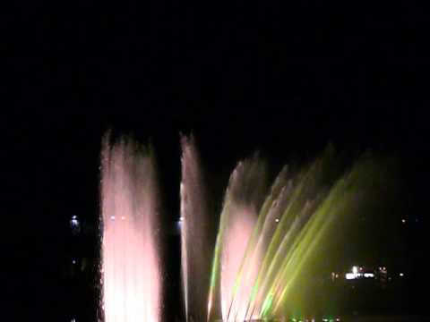 Hamburg Planten un Blomen Konzert mit Wasser, Licht und Musik