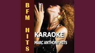I Reach for You (Originally Performed by Marc Anthony) (Karaoke Version)