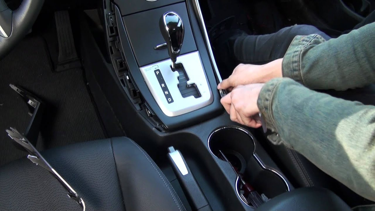 5th Gen Elantra Center Console Disassembling Clip 3 Youtube