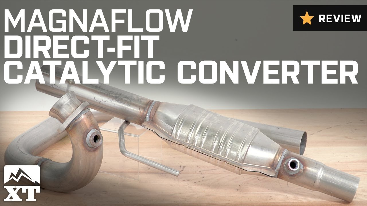 medium resolution of jeep wrangler magnaflow direct fit catalytic converter 1997 1999 4 0l tj review