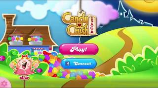 Candy Crush Saga level 1 Gameplay  - Score: 2820 First Walkthrough HD