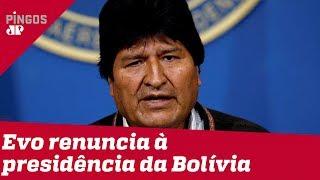 Caos na Bolívia é culpa de Evo Morales