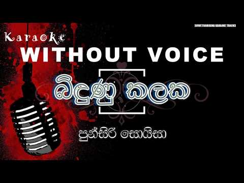 Bindunu Kalaka (WITHOUT VOICE) Punsiri Soysa Karaoke Music Track