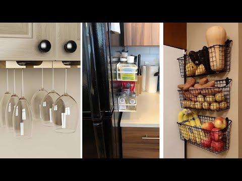 34 Super Inventive Ways to Organize a Tiny Kitchen