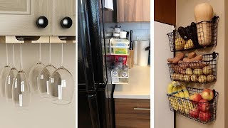 34 Super Inventive Ways to Organize a Tiny Kitchen
