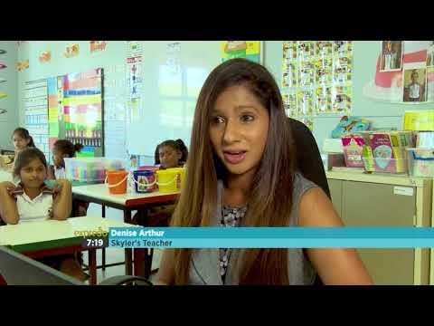 9 Year Old Durban-based Slime Entrepreneur, Skyler Carmichael