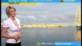 ITV1 Tyne Tees Weather (07/08/2010)