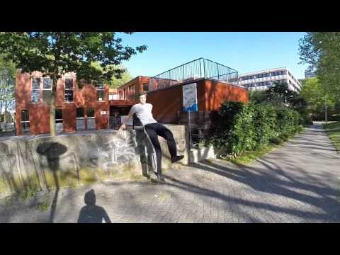 Parkour POV GoPro Hamburg City Nord