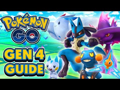 POKÉMON GO GEN 4 GUIDE - EVERYTHING YOU NEED TO KNOW FOR NEW GEN 4 UPDATE!