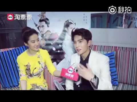 170729 劉亦菲與楊洋專訪 Liu Yifei & Yang Yang Interview