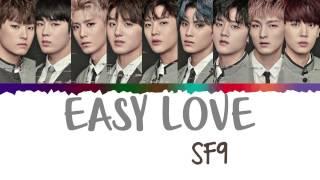 SF9 Easy Love Lyrics