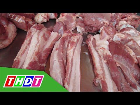 Trời mưa, chợ ế khiến giá thịt heo giảm mạnh | THDT