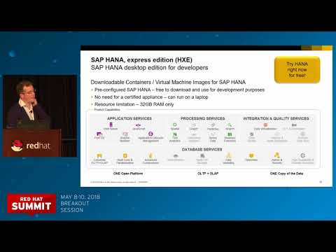 Innovate and simplify, work faster and smarter with SAP HANA