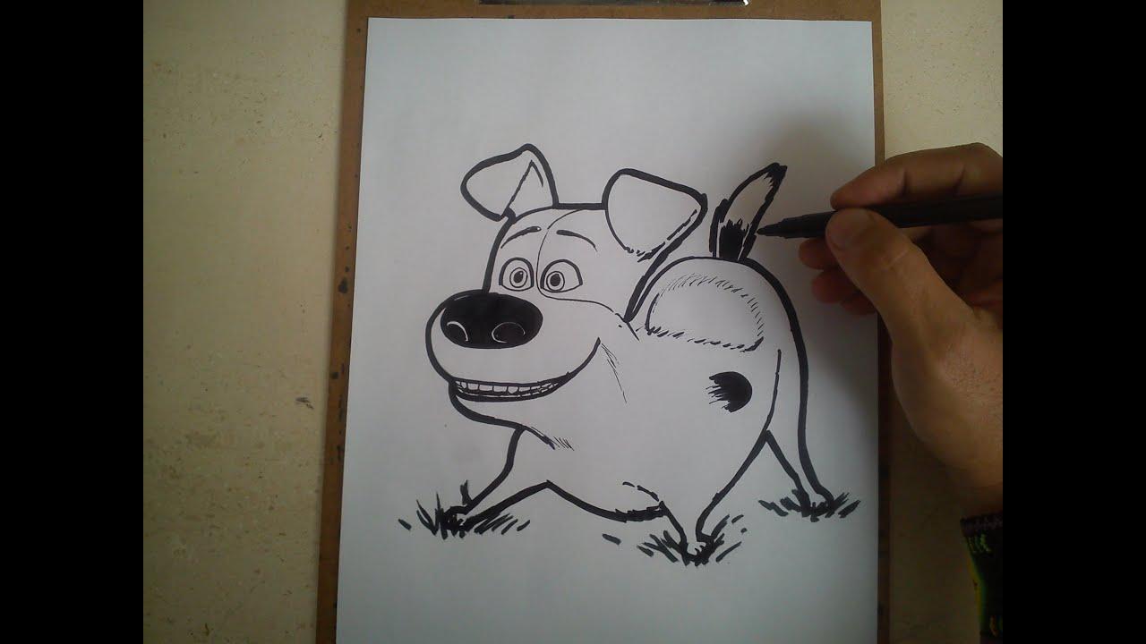 COMO DIBUJAR A MAX DE THE SECRET LIFE OF PETS / how to ...