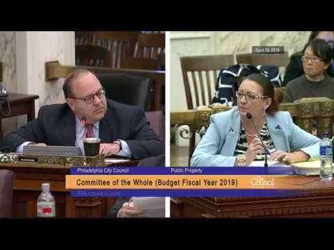 FY2019 Budget Hearing - Public Property 4-16-2018