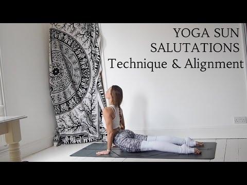 Yoga Tutorial - Vinyasa Flow Sun Salutations