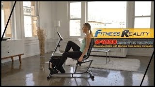 2151 - Fitness Reality R4000 Magnetic Tension Recumbent Bike