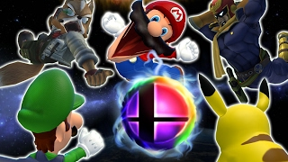 The Super Smash Bros roster fightst Mario... Only they're all stupi...