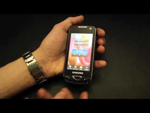 Pikakatsaus Samsung B7722 Dual SIM -puhelimeen
