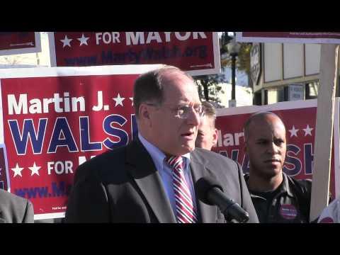 Congressman Mike Capuano Endorses Marty Walsh