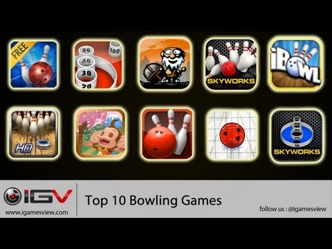 Top 10 Bowling Games For iPhone, iPod Touch and iPad