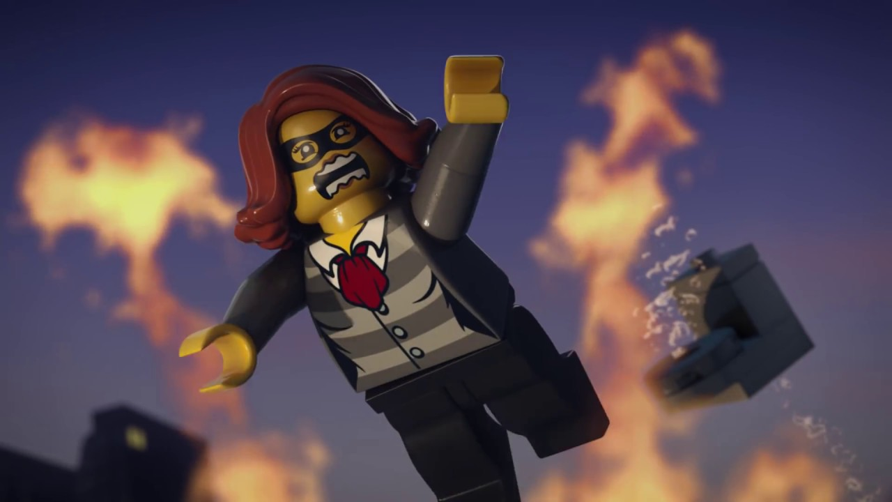 Getaway Goons Lego City Police Mini Movie Part 1 Youtube