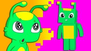 Groovy Марсианин и Phoebe - Родители дают им миниатюрные видеоигры за хорошие оценки в школе.