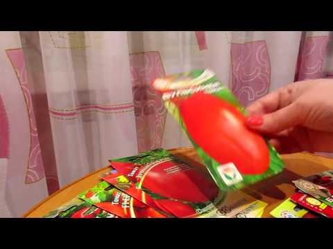 Семена 2018 Томаты для теплиц Часть1