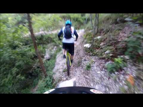 "Back 40 Trails   ""The Ledges"" Trail Section  -  Bella Vista, Arkansas"