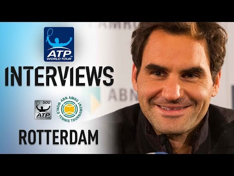 Federer Looks At Quest For No 1 At Rotterdam 2018