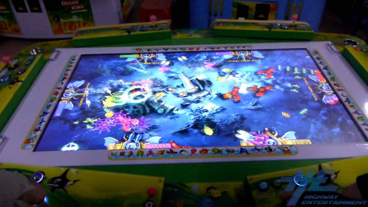 Ocean king fish arcade game gameplay 3 youtube for How to play fish table game