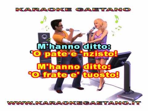 Canta Napule 'A luciana karaoke