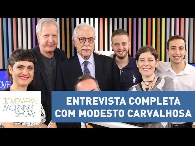 Confira a entrevista completa com o advogado Modesto Carvalhosa