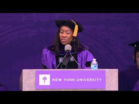 2015 NYU Commencement Highlights