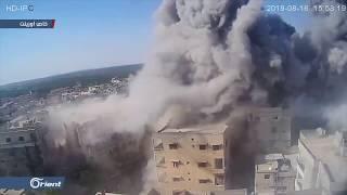 مقتل طفلة وإصابة آخرين بقصف جوي لميليشيا أسد على أريحا بإدلب