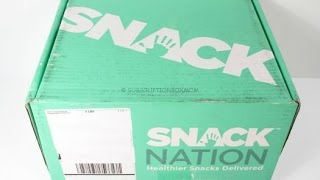 Snack Nation August 2015 Unboxing + Free Box Offer