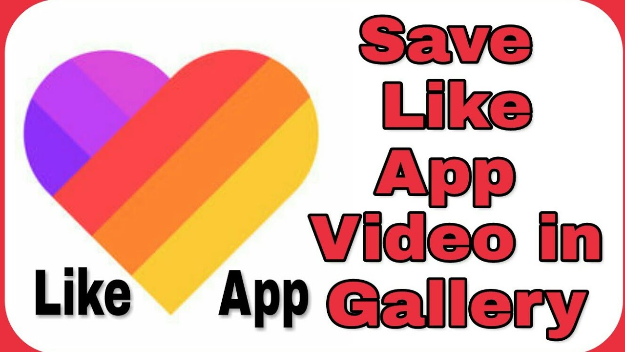 How To Save Like App Videos On Phone Gallery Youtube