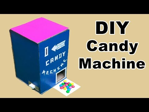 How to Make a Candy Vending Machine at Home (Coin Operated)