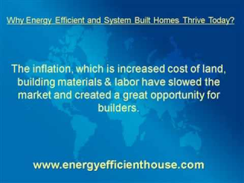 why energy efficient and system built homes thrive today