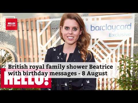 Celebrity daily edit: British royals shower Princess Beatrice with birthday love - video