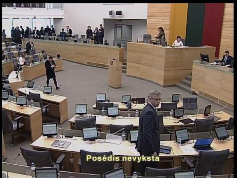2019-03-21 Seimo rytinis posėdis Nr. 268