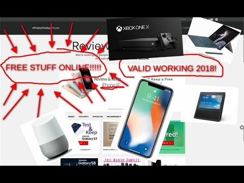 HOW TO GET FREE STUFF ONLINE!!! (IPHONE X, AMAZON ECHO SHOW, GOPRO HERO 6, AND MORE!!!!)