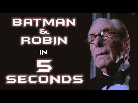 Batman & Robin In 5 Seconds