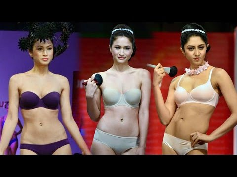 Indian Hot Models In BIKINI @ Triumph International BIKINI Fashion Show 2015