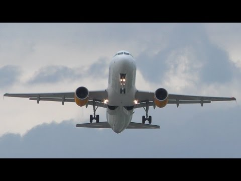 Thomas Cook Airlines Airbus A320 Takeoff from Corfu CFU