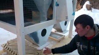 обзор клетки для кроликов